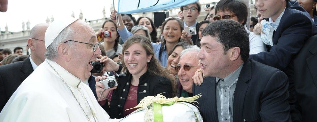 Foto con Papa Francesco